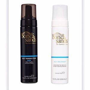 Bondi Sands self tanning foam + self tan eraser